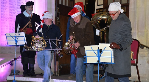 Fanfare heralds start of Living Advent Calendar 2017